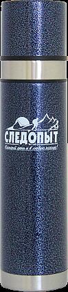 Термос СЛЕДОПЫТ с двойной крышкой, 0,75 л PF-TM-05
