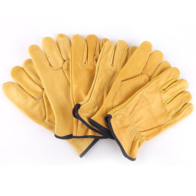 Перчатки Драйвер-К гладкокожанные