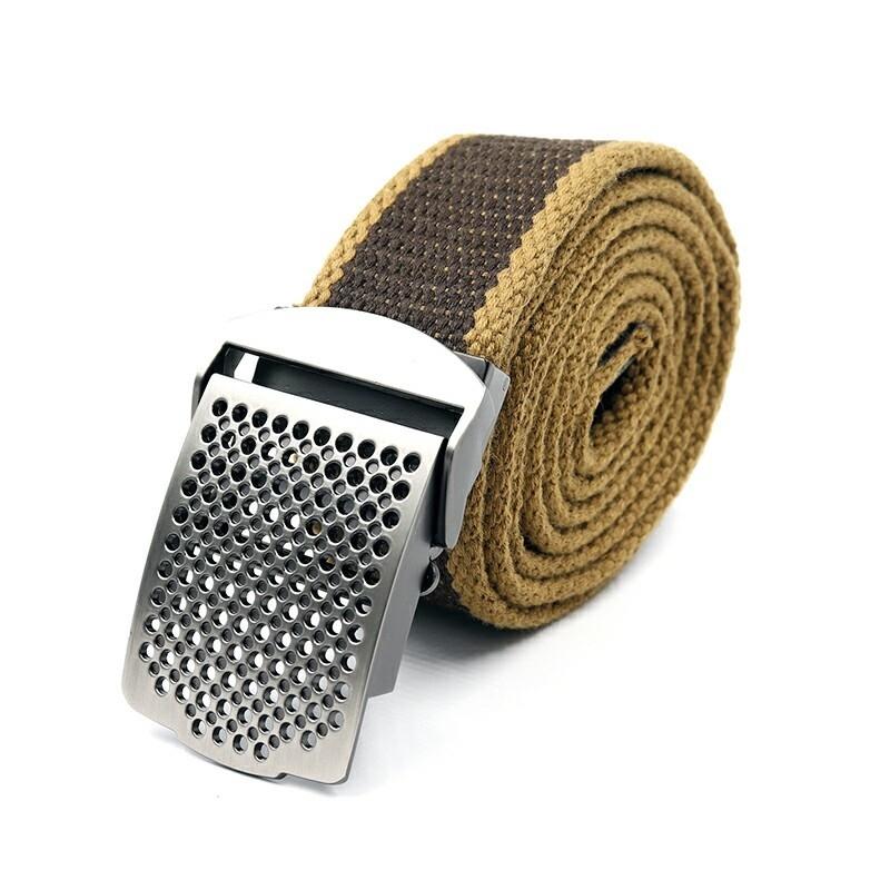 Ремень СЛЕДОПЫТ Отверстия 1400*36 мм текстиль коричневый