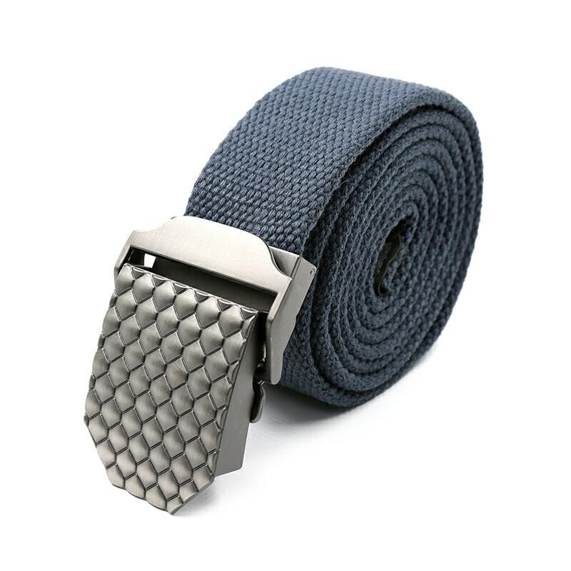 Ремень СЛЕДОПЫТ Чешуя 1400*36 мм текстиль светло-синий