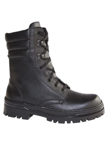 Ботинки с высокими берцами( натуральная кожа , нат.мех)  М-015