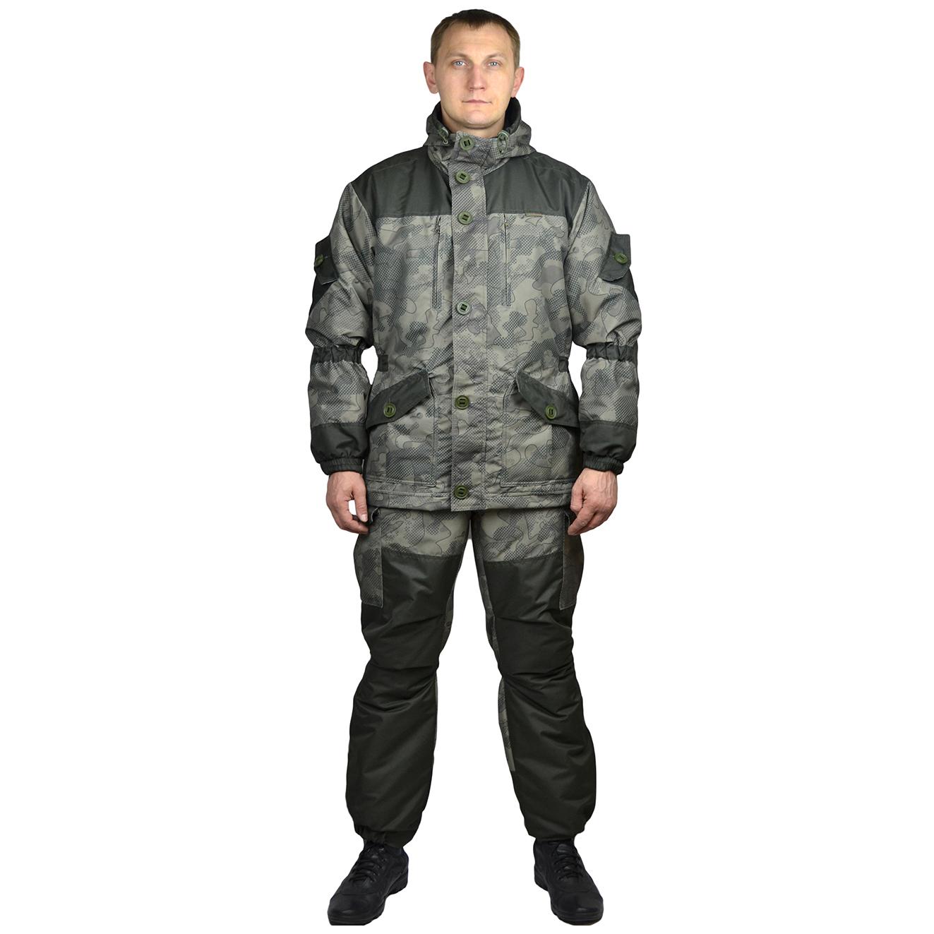 Костюм мужской Донбасс демисезонный ткань Таслан КМФ Кайман