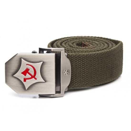 Ремень брючный Герб СССР 140