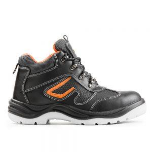 Ботинки кожаные мужские 27 с композитным подноском