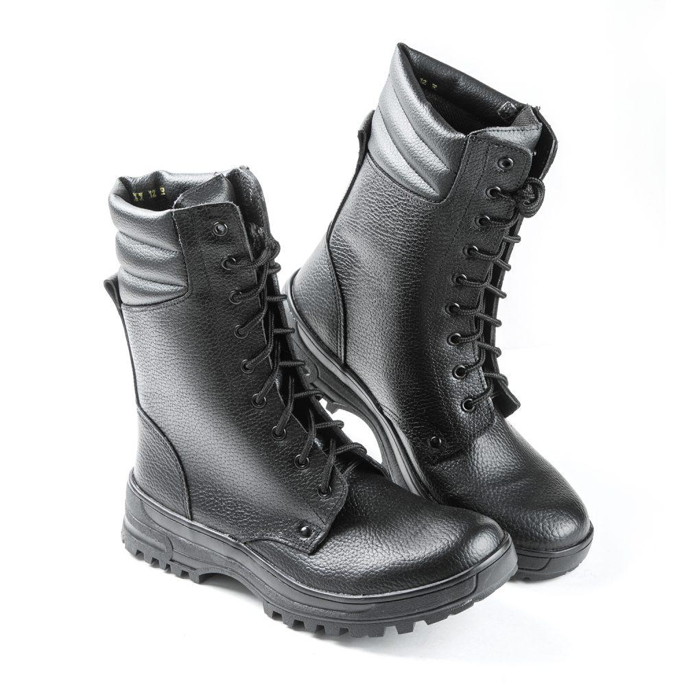 Ботинки мужские высокий берец нат кожа клеепрошивные ТЭП 64