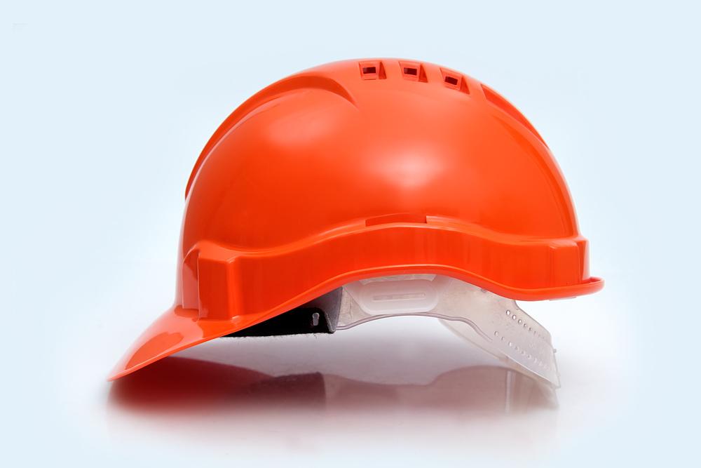 Каска защитная Европласт (оранжевая)