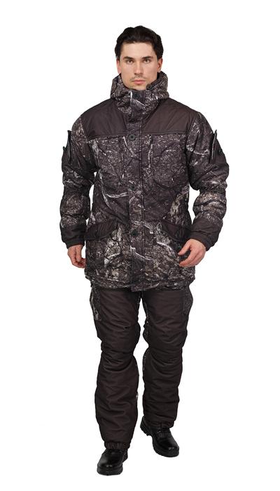 Костюм мужской Донбасс зимний кмф ткань Алова мембрана цвет  Сухой лес